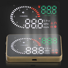 X6 Car Hud Head Up Display OBD 2 Plug Speedometer Overspeed Car Alarm Auto Windshield Projector Car Electronics autool x30 hud obd 2 head up display car gps speedometer headup obd2 projector headup smart digital auto universal display meter