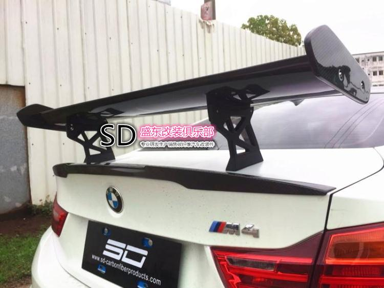 Fit for <font><b>BMW</b></font> M2 M3 M4 <font><b>GTS</b></font> GT carbon fiber rear <font><b>spoiler</b></font> rear wing image