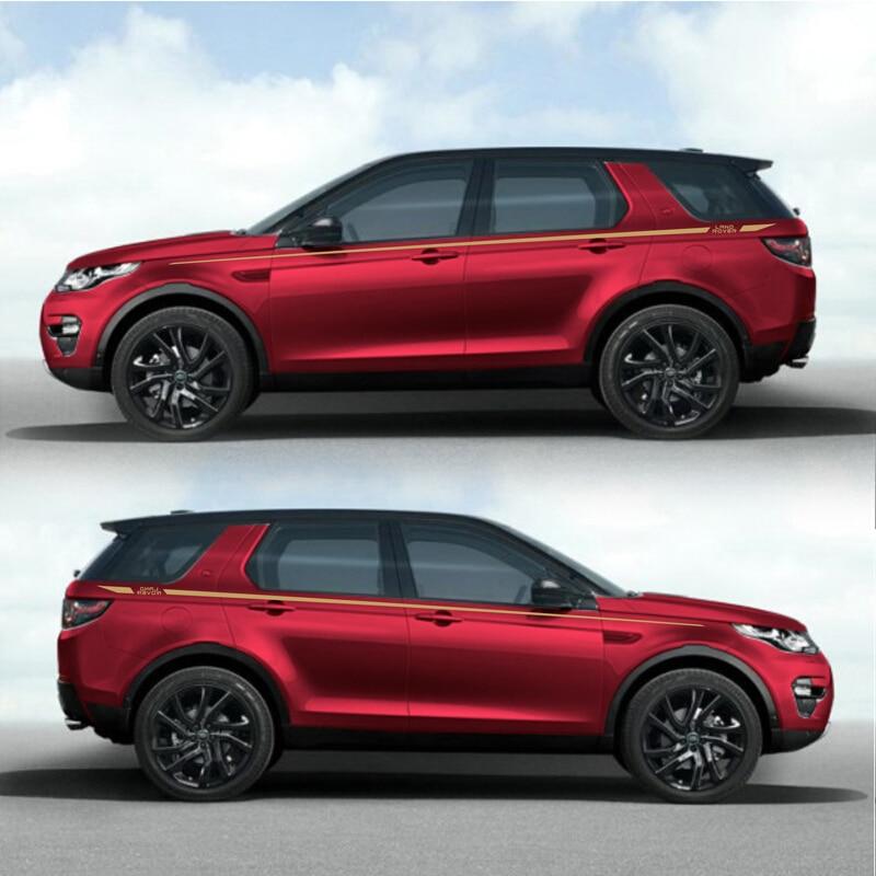 Autocollants de voiture à rayures de course World Datong pour RANGE ROVER LR4 HSE LUX Mark Levinson autocollants de sport autocollants auto