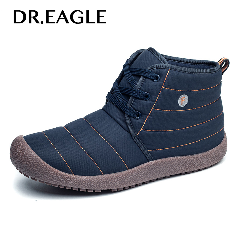 DR.EAGLE Outdoor Cushions Men Running Shoes Women Winter Autumn Waterproof Walking Footwear chaussure homme sport Sneakers Boots