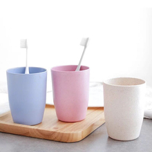 Товары для дома, ванной Зубная щётка чашка кружка для кофе в офисе бутылка для воды и чая Пластик простой 300 мл пара Зубная щётка чашка