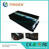 12 В 220 В Чистая синусоида конвертер, Высокая преобразователь частоты 2000 Вт DC/AC 12 220