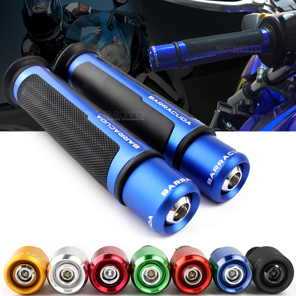 7/8'' Motorcycle Anti-Skid Handle Grips cnc 22mm For Yamaha Fz6 R1 R3 R6 R15 R25 YZF R1 MT07 MT-09 Tmax 500 530 XJ6 Ybr