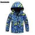 Brand Fashion Boys Jackets Kids Hooded Coats Inside Fleece Winter 3-11Y Children's Sports Outerwear Kids Clothes Windproof SC749