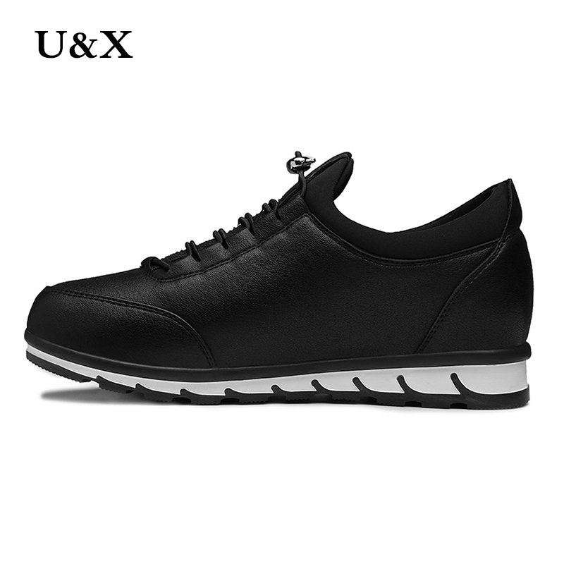 Здесь можно купить   U&X leather shoes casual spring and autumn ladies flat shoes shoes shoelaces Zapatos Mujer size 36-39 Обувь