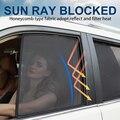 4 шт. магнитное автомобильное боковое окно солнцезащитных теней сетчатый тент для Skoda Yeti 2009 2010 2011 2012 2013 2014 2015 2016 2017 2018 2019