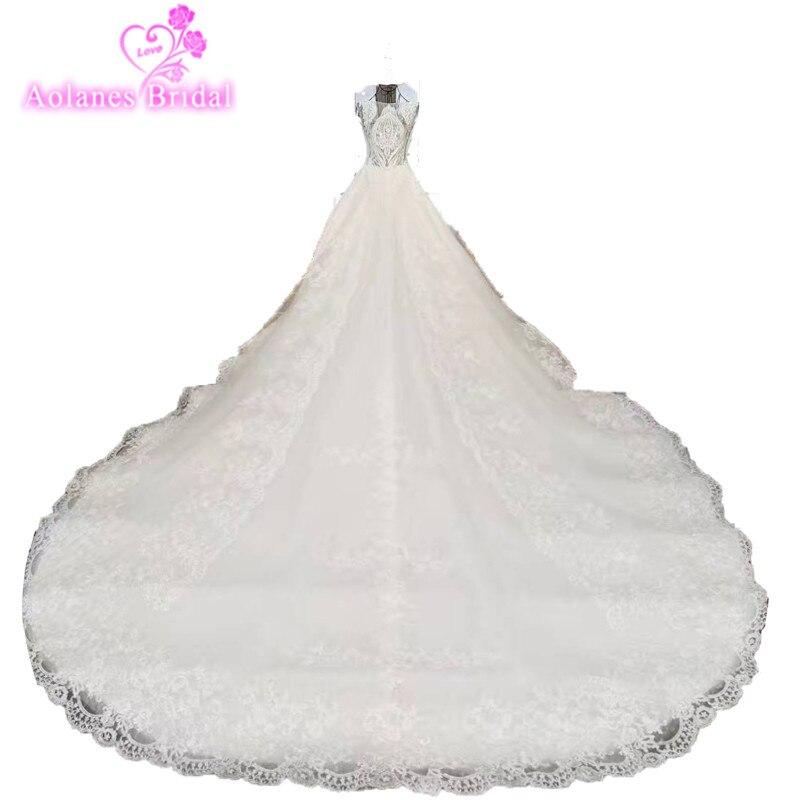 Vestido de boda del vestido de bola del cordón de lujo 2017 princesa - Vestidos de novia