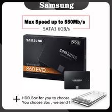 SSD SAMSUNG 860 EVO SSD 1TB 500GB HD ssd dysk twardy HDD 2.5 dysk twardy ssd sata 250GB dysk SSD dla laptop PC