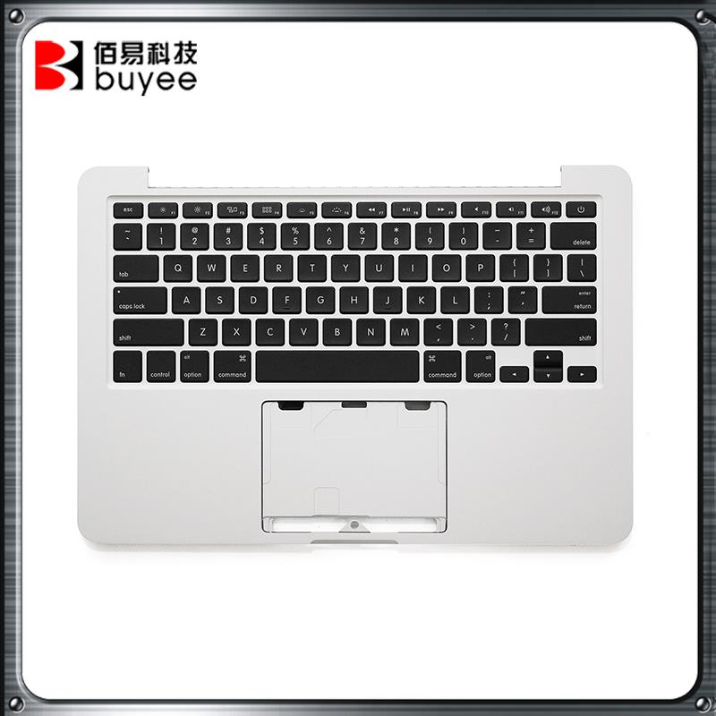 Original NEW A1502 Topcase Late 2013 Mid 2014 For Macbook Pro Retina 13'' A1502 Laptop Palmrest Top Case Housing US Keyboard original new a1502 top case with keyboard uk version for macbook pro retina 13 2013 2014