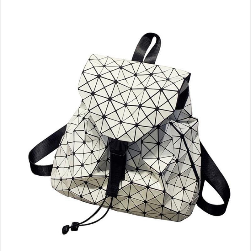 ФОТО New Fashion Diamond Lattice school bags for Teenage Girls  female Fashion Girl Daily BaoBao bag large capacity luxury handbags