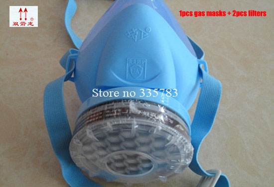 New Single canister dust respirator mask Self-priming Filter gas Mask Industrial Paint Masks Chemical Gas Filter Paint Safety new industrial safety full face gas mask chemical breathing mask paint dust respirator workplace safety