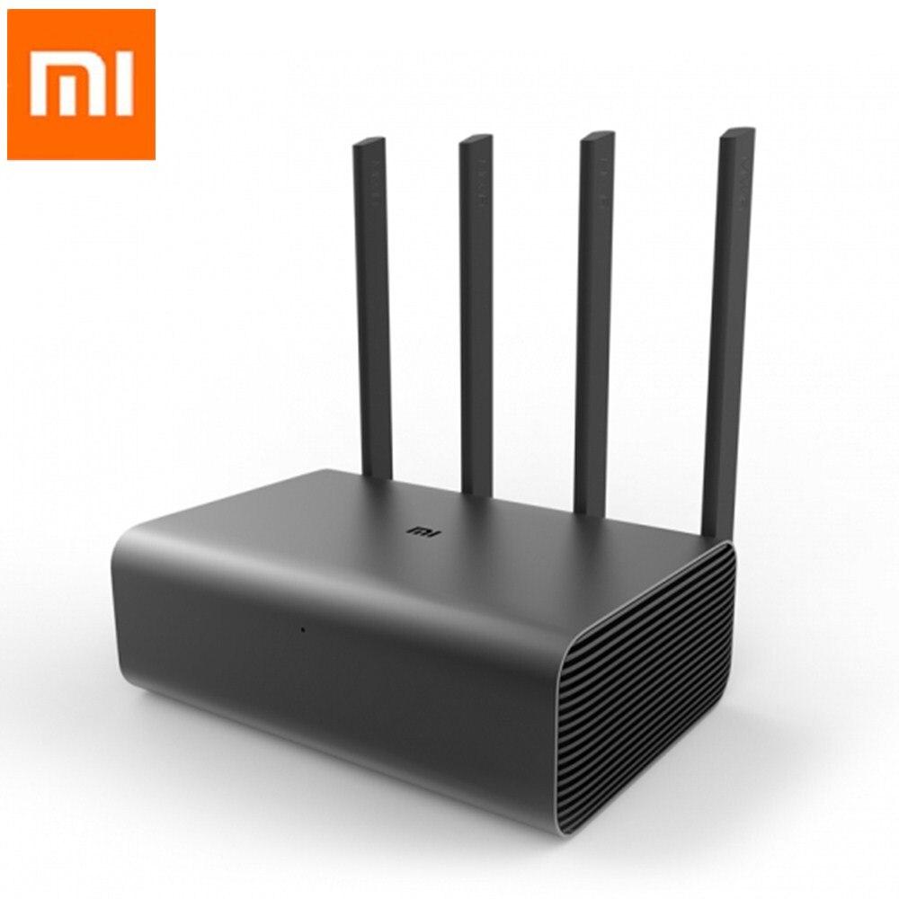 Origine Xiao mi mi routeur intelligent Routeur Sans Fil Pro 2600 MBPS 1 Tb wifi routeur Hd 4 ANTENNE double- bande WiFi Réseau Dispositif