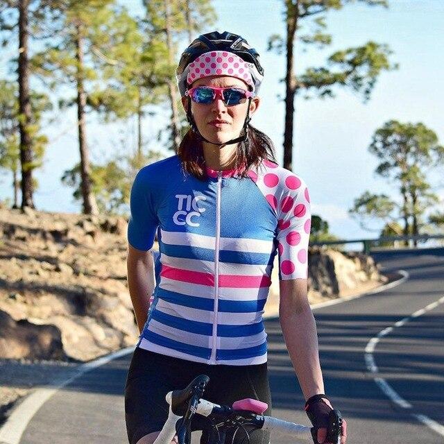 Summer Women's  Cycling Jerseys Short Sleeve Cycling Shirts Women Bike Jeresy Bicycle Clothing Cycle Wear Ropa Maillot Ciclismo