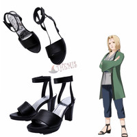 Athemis Anime NARUTO Tsunade Shoes Cosplay Accessories For Cosplay Costumee