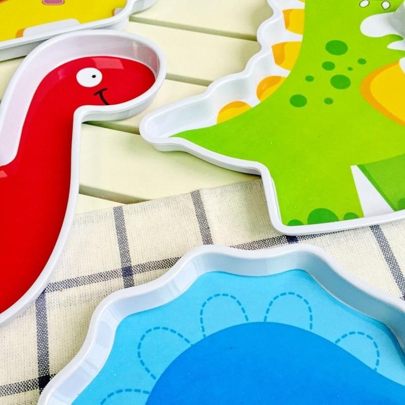 6pcs / set kreatif yang popular kreatif melamine pinggan mangkuk - Memakan kanak-kanak - Foto 6