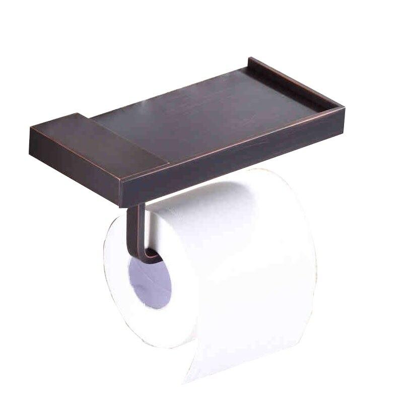 ᑐEnvío libre! Nueva negro sostenedor de papel higiénico baño ...