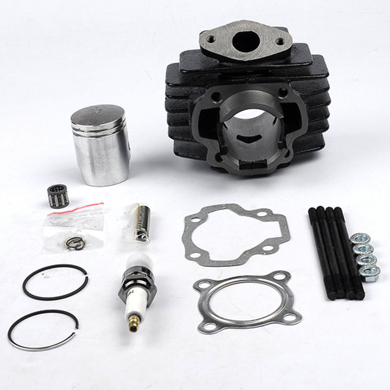 New ATVATP Cylinder Gasket Piston Ring Kit Top End for YAMAHA PW 50 PW50 1981- 2009 Bike Scooter Motor Engine