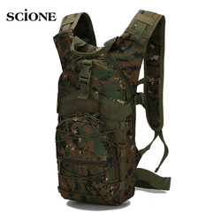 15L Molle Tactical Backpack 800D Oxford Military Hiking Bicycle Backpacks Outdoor Sports Cycling Climbing Camping Bag Army XA568