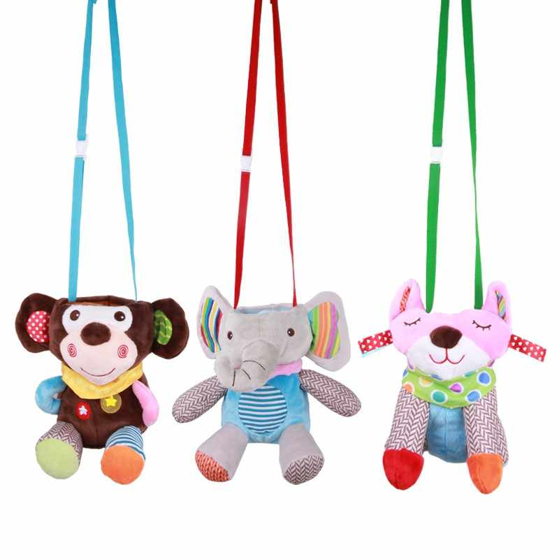 Cute Animals Baby Keep Nursing Plush Warm Pouch Feeding Bottle Holders Covers Anti- Case Anti-scalding