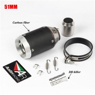 Hot Sale] Carbon Fiber Escape System with DB kille Universal