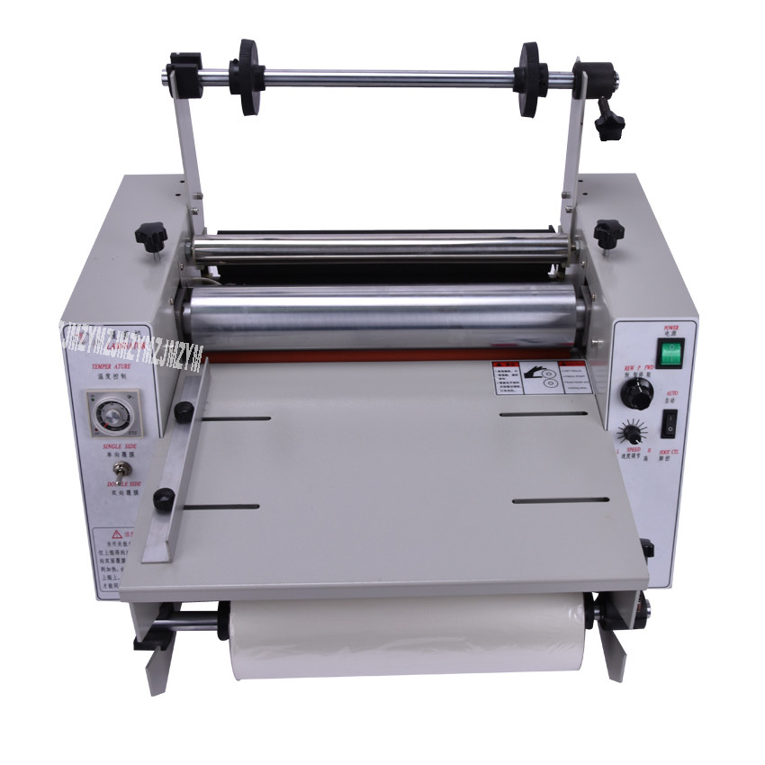 Laminating Machine, DC-380 Hot Laminator, Roll Laminating Machine,500W The Greater Than Adhesive Width 365 mm 1pcs 2018 Hot