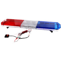 1.2M 88W Bright Car Roof Strobe Warning Light Bar 12V 24V Ambulance Engineering Vehicles Safety Caution Lamp