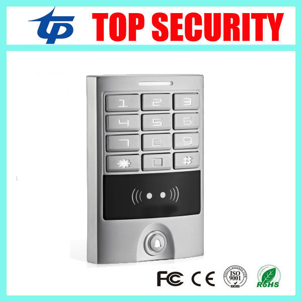 DHL free shipping new arrival IP65 waterproof smart card access control system 125KHZ RFID card door control panel with keypad цена