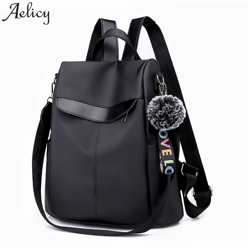 72f7f0e6622 Detail Feedback Questions about Aelicy Backpack Trend Wild Oxford Cloth  Large Capacity Travel women Backpack Travel girls Bags mochila feminina  dropshipping ...