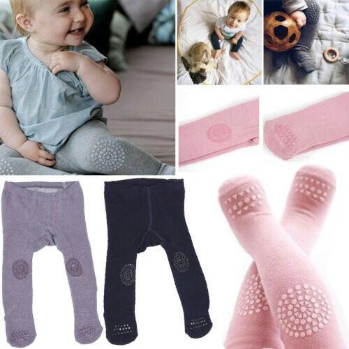 Pants Toddler Baby Cotton Socks Girl Bear Kid Solid High Stockings Hosiery Tights