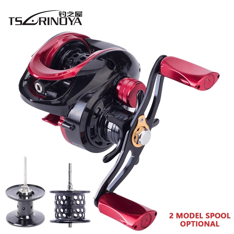 TSURINOYA 6.6:1 Hight Quality Ulttra Light Bait Casting Reel Left Right Hand 2 Model Metal Spool Baitcasting Reel Fishing Reels 12 1bb 6 3 1 left right hand casting fishing reel cnc fishing reels carp bait baitcasting carretilha de pesca molinete shimano