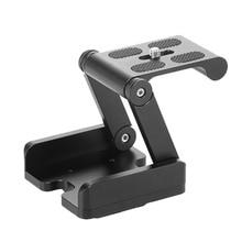 Meking Aluminum Alloy Folding Camera Z Desktop Stand Holder Tripod Flex Pan & Tilt Ball Head Compatible Slide Rail Camera