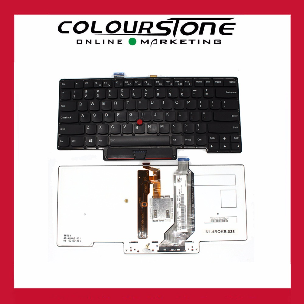 Original US Laptop backlit Keyboard English For Lenovo Thinkpad For IBM X1 Carbon 1ST Gen MT 3443 3444 3446 3448 3460 3462 3463  цены