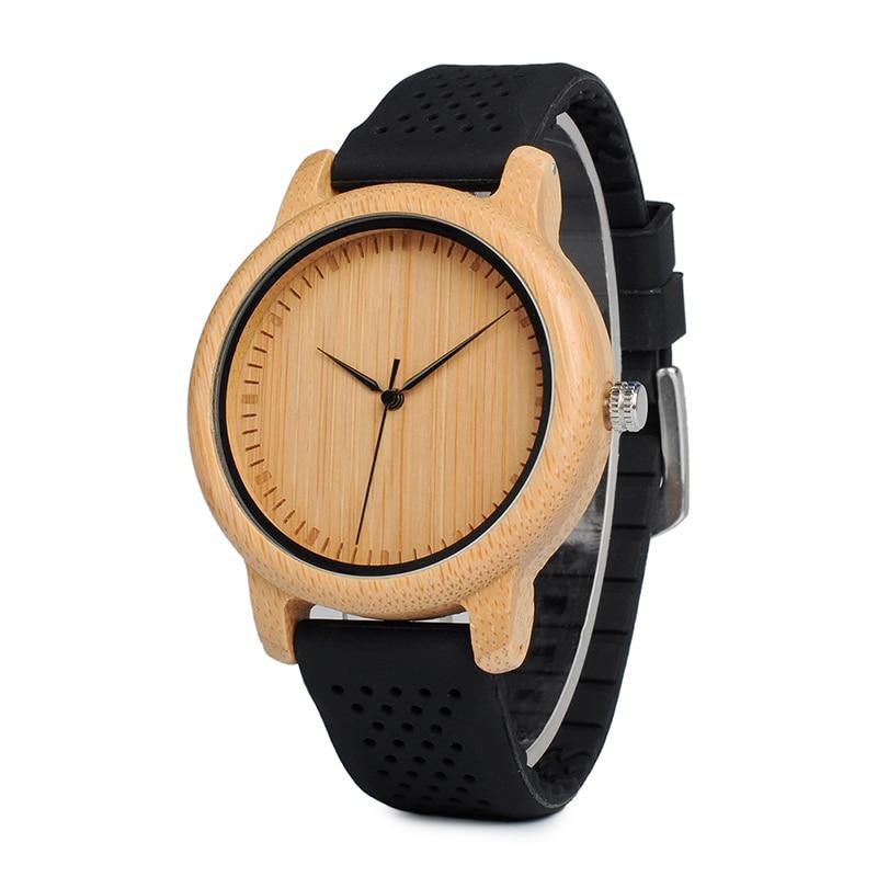 BOBO BIRD Women Luxury Bamboo Wood Watches 18