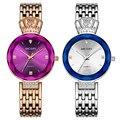 Лидирующий бренд  роскошные женские часы  2020  платье  браслет из нержавеющей стали  кварцевые часы  простые часы  relogio feminino