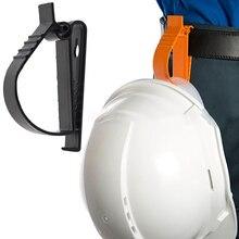 Braçadeira multifuncional capacete de segurança braçadeira earmuffs braçadeira chaveiros clipes de proteção do trabalho braçadeira grampos capacete de trabalho clipes