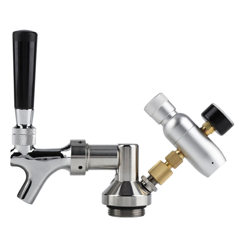 2L Stainless Steel Beer Mini Keg With Pressurized Faucet 14