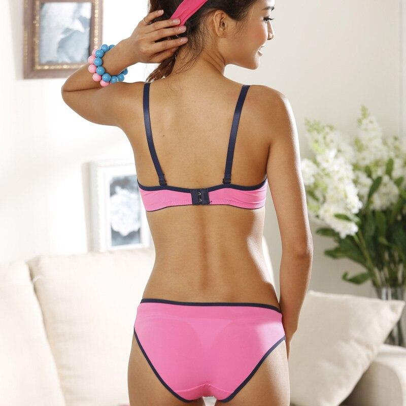 f4c57473bca1 New arrival Lolita cotton bra set fluorescent candy color comfortable girls  underwear bra sets-in Bra & Brief Sets from Underwear & Sleepwears on ...