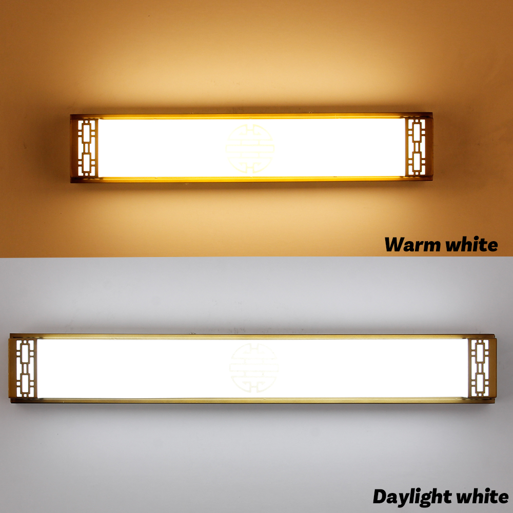 High quality vintage led wall lights in bathroom 36w chinese style high quality vintage led wall lights in bathroom 36w chinese style bronze wall sconces lighting fixtures 2 colors bedside lamp in led indoor wall lamps from arubaitofo Gallery