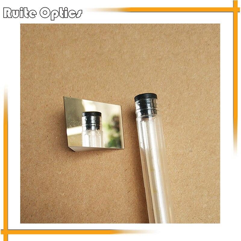 1pc 50x50x50mm K9 verre optique Angle droit pente réfléchissant Triangle prisme pour expérience optique
