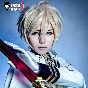Image 4 - HSIU Mikaela Hyakuya cosplay wig Seraph of the End costume play wigs Halloween costumes hair free shipping NEW High quality