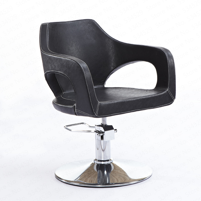 1B Hair Salon Dedicated Hairdressing Salon Chair Fashion Haircut Chair Beauty Stool Hydraulic Rotary Barbershop Chair