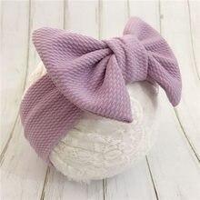 Big Bow Baby Headbands 2019 Spring Infant Headwraps Newborn Girls Turban
