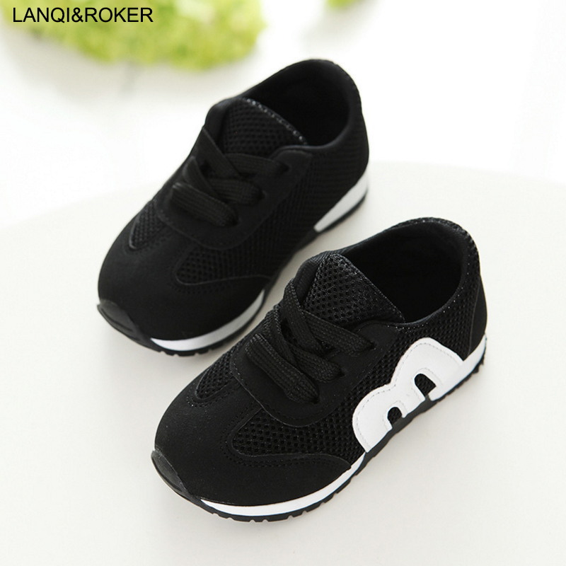 2017 New Children Shoes Boys and Girls Fashion Antislip Sneakers Outdoor Kids Sport Running Shoes Mesh Breathable Toddler Shoes