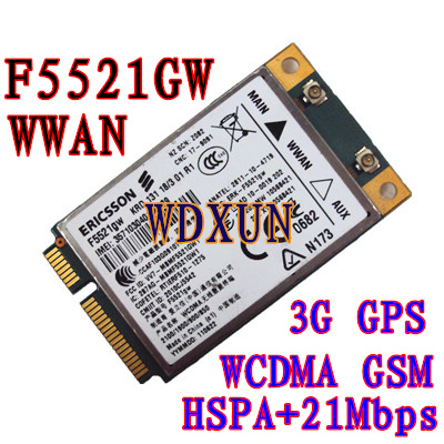 Universal Ericsson F5521GW gobi3000 gobi 3000 HSPA EDGE 21Mbps Card - Echipamente de rețea