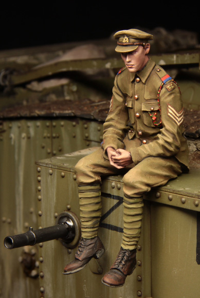 1:35 scale resin model kit resin figure model soldier A1101