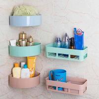 Wall Mounted Sink Corner Type Kitchen Storage Holder Bathroom Holder Kitchen Shelves Soap Holder Sundires Cosmetic