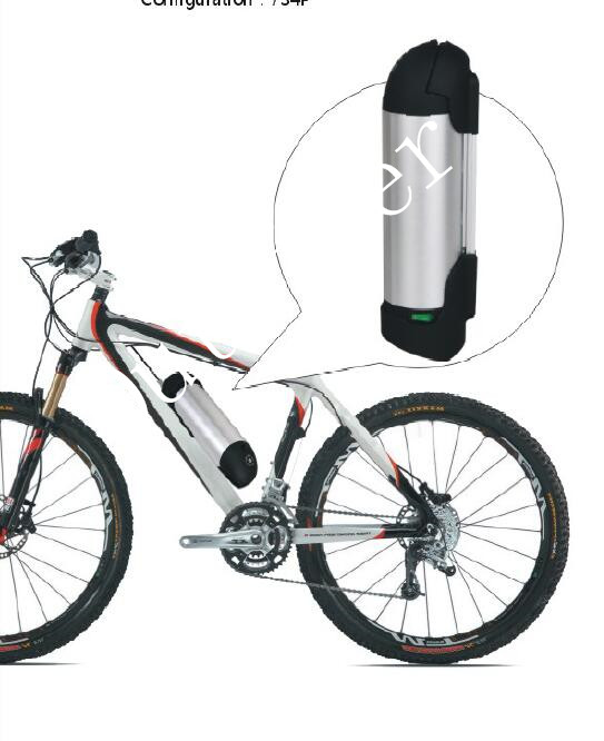 OR02A1 24В 8ач чайник/бутылка литиевая батарея с 2A зарядное устройство с CE, UL одобрил, легко Электрический велосипед DIY