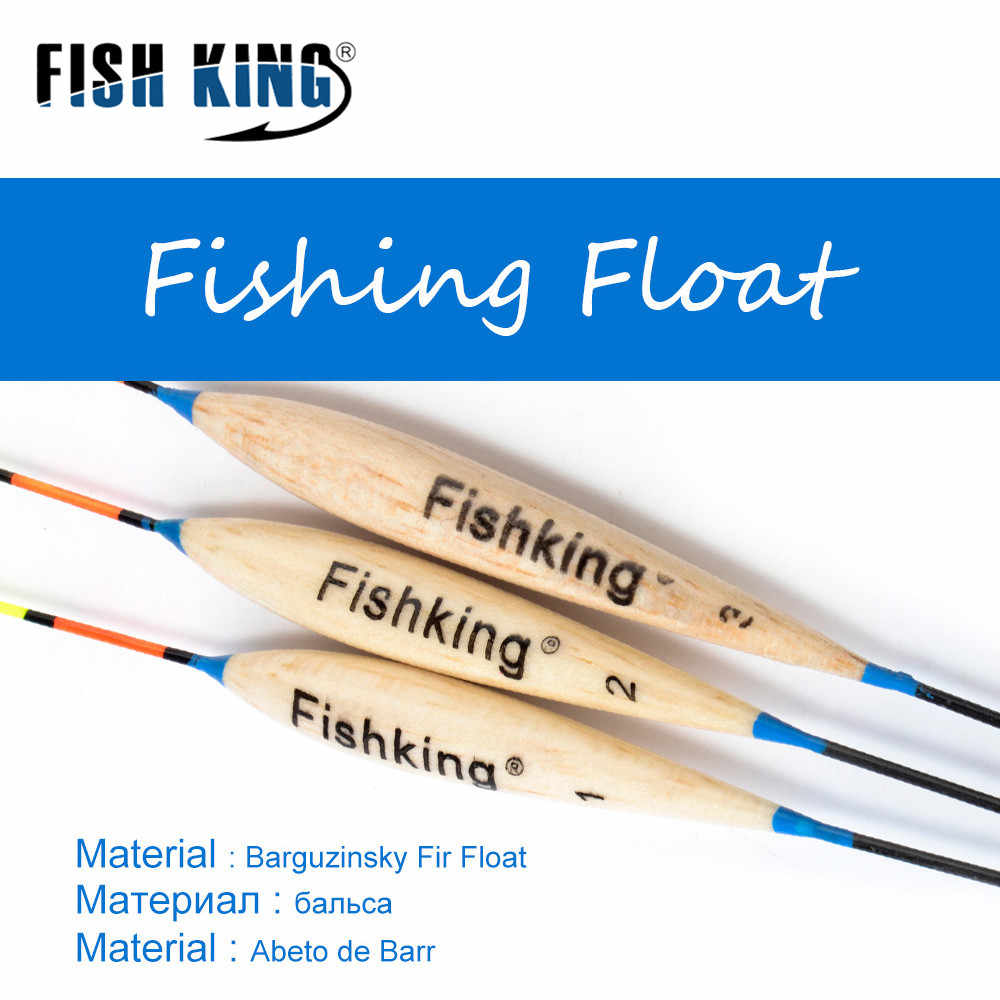 الأسماك الملك الصيد تعويم Barguzinsky التنوب تعويم 3 قطعة/الوحدة Dobbers Voor Vissen الكارب الصيد دي بيكي Accessoreis Flotador Flotteur