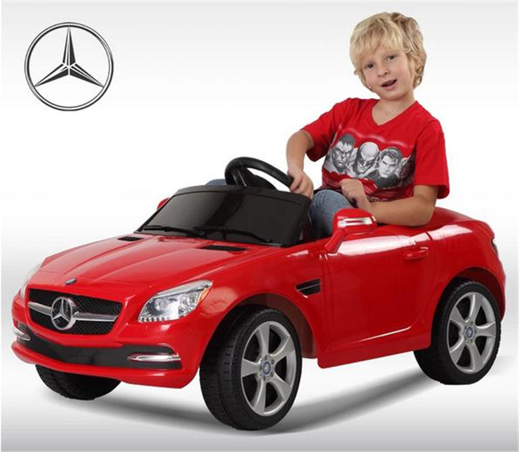 brand new mercedes benz sls amg rc mp3 kids baby ride on car battery
