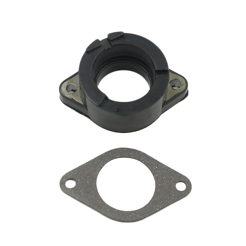 In stock Carburetor Interface Adapter Intake Manifold For Yamaha XT500 1976-1989 XT 500 S 1988- 1989 SR 500 <font><b>SR500</b></font> 1979 - 1990 image